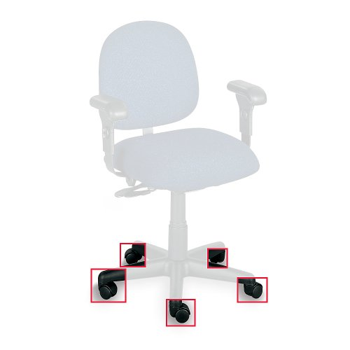 Optional Carpet Casters For Phoenix Seating