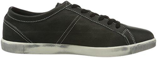 Softinos Tom Smooth, Sneaker Uomo Nero (Black 525)