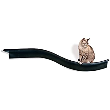 The Refined Feline Lotus Branch Cat Shelf, Espresso