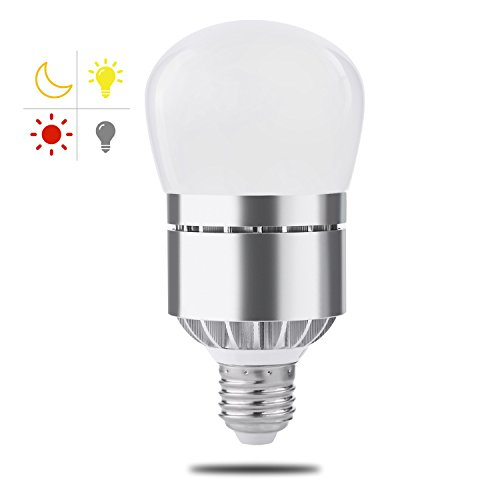 Dusk to Dawn Light Bulb, Witshine 100W Equivalent E26 3200K LED Photo Sensor Light Bulb with Auto on/off, Indoor / Outdoor Lighting Lamp for Porch, Hallway, Patio, Garage(Warm White, Much Brighter) - Installing Outdoor Lamp Post