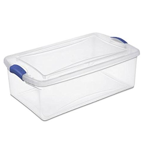 Quart Latch Box Clearview Container