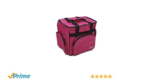 Tutto Serger /& Accessory Bag-14.5X14.5 Pink