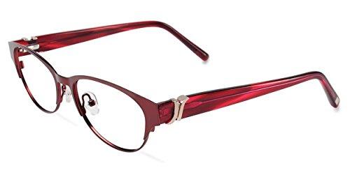 JONES NEW YORK Eyeglasses J481 Burgundy 52MM