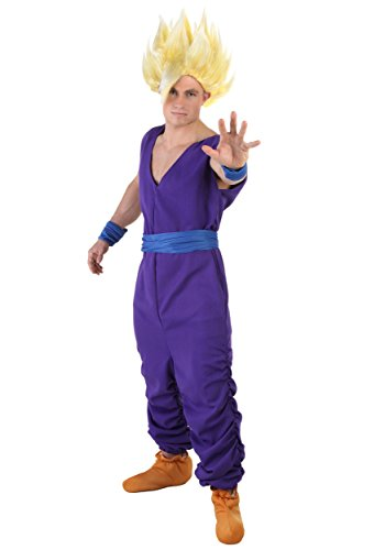 [Fun Costumes Gohan Costume Large] (Dragon Ball Z Costume For Adults)