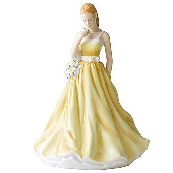 (Royal Doulton Flower of the Month March Jonquil Figurine)