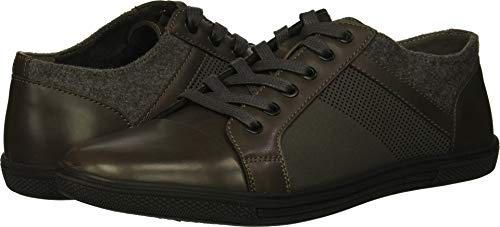 Unlisted by Kenneth Cole Men's Crown Sneaker B, Grey, 10.5 M US