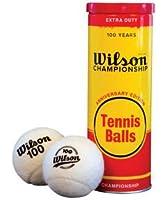Tennisball Anniversary Metal 3 Ball White