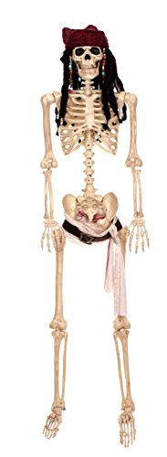 Pirates Caribbean Skeleton - Disney Pirates of the Caribbean Jack Sparrow Full Size Posable Skeleton