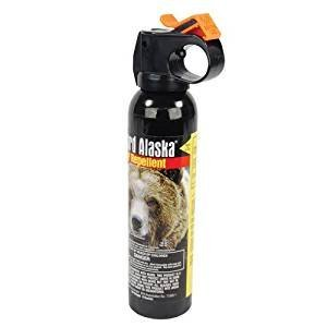 Personal Security Products GGBR9-C 9oz. Guard Alaska Bear Repellent - Clamshell