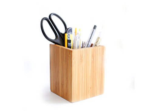 Creative Bamboo Pencil Desktop Storage product image