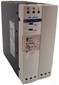 SCHNEIDER ELECTRIC Power Supply 48-Vdc 3-Amp ABL7 Plus Options ABL7RP4803 Phaseo 48VDC 3AMP