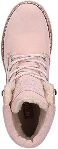 604 Marine Rose Bleu Boots Shoes 2837 Mustang qxpE6Za