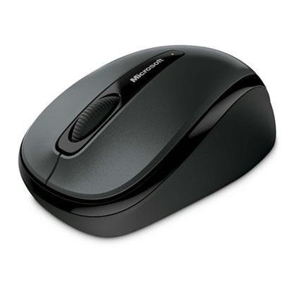 Wrls Mobile - Wrls Mobile Mouse3500 Mac/Win Usb Port En/Es Hw Loch Ness Gray