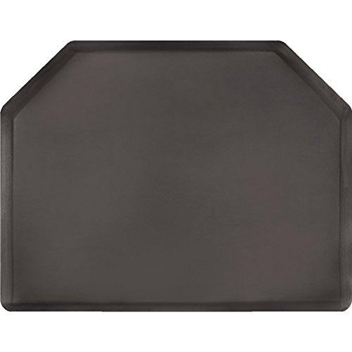 Salon 5′ X 4′ Elite Anti-fatigue Mat * 3/4″ Thick * Black * No Chair Depression For Sale
