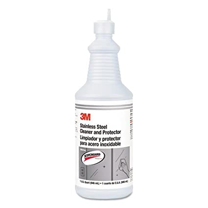 Amazon.com: 3M Stainless Steel Cleaner & Polish, Unscented ...