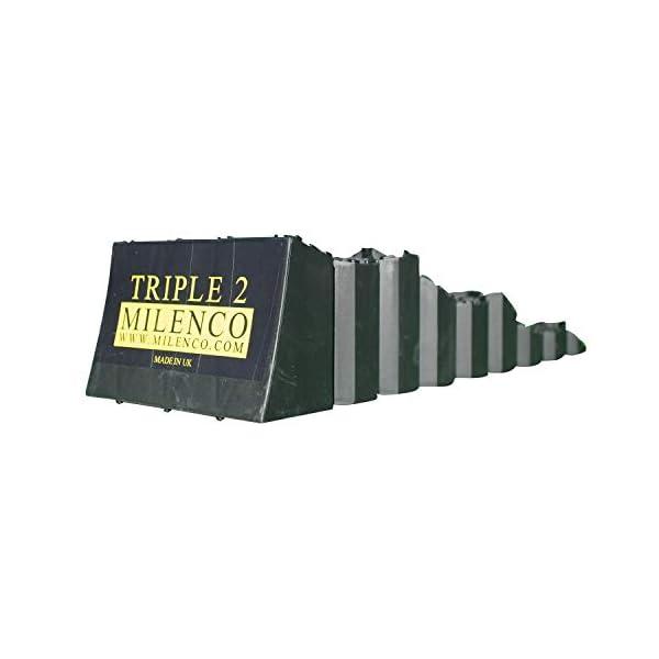 Milenco Auffahrkeil Triple Level mit drei Auffahrhöhen