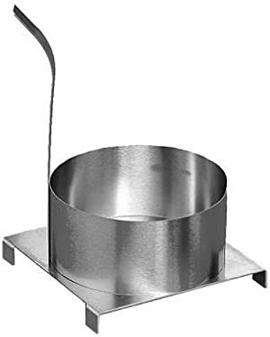 """Carnival King 8/"""" Stainless Steel Funnel Cake Mold Ring Free Shipping USA Only"""