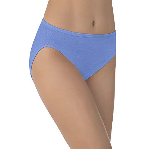 Vanity Fair Women's Illumination Hi Cut Panty 13108, Mockingbird, Medium/6