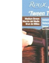 Roux Tween-Time Crayon Medium Brown (3 Pack) by Roux