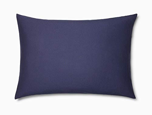 Calvin Klein Modern Cotton Harrison Pillowcase Pair, King, Navy - Klein Bed Pillow