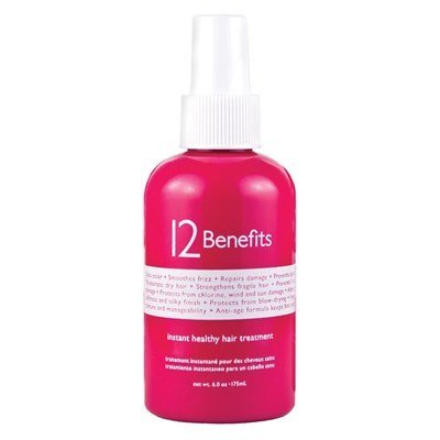 6 Ounce Treatment - Instant Healthy Hair Treatment by 12 Benefits Size: 6 Ounce Label May Vary