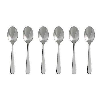 6 x DRAGON Dessert spoon, stainless steel