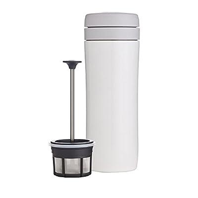 Espro Travel Coffee Press, Stainless Steel, 12 oz
