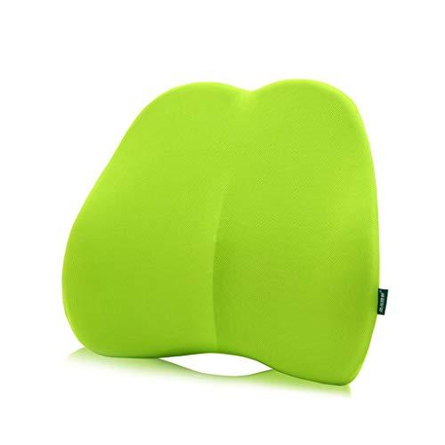 Lumbar, Comfortable Orthopedic Memory Reclining Lumbar Pillow Patio Chair Swing Chair Wheelchair Car Aircraft Seat 45cmx40cmx10cm (color : Green) by Asdfooo (Image #6)