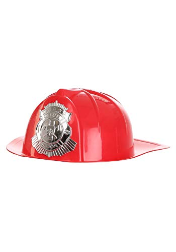 Forum Novelties 68165 Deluxe Fireman's Helmet Adult Accessory,
