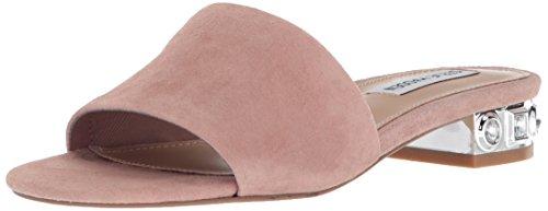 Steve Madden Women's Costa Heeled Sandal, Mauve Suede, 9 M (Steve Madden Zappos)