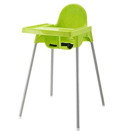 - MING REN Baby High Chair - Baby Dining Table and Chairs Baby Eating Table Multi-Function Seat Home BB Stool Child Seat (Color : Green)