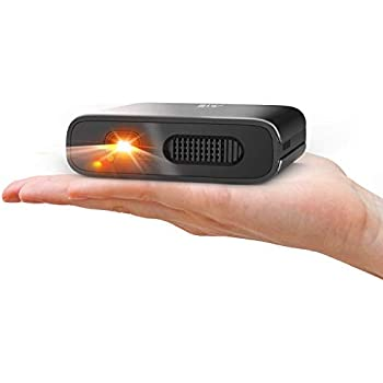 Mini Projector - Artlii Portable DLP Projector with 5200mAh Built-in Battery for Travel and Outdoor, Support 1080P WiFi 3D and Auto Keystone ...