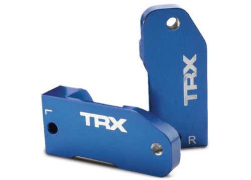 Traxxas Rustler Parts (Traxxas 3632A Blue-Anodized 6061-T6 Aluminum Caster Blocks (pair))