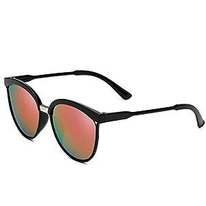 BLACK STAR Fashion Unisex Sunglasses Round Frame Sunglasses Vintage Sun Glasses 8