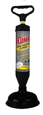 Butler 670087 Liquid-Plume Hydro-Pressure Plunger, Red