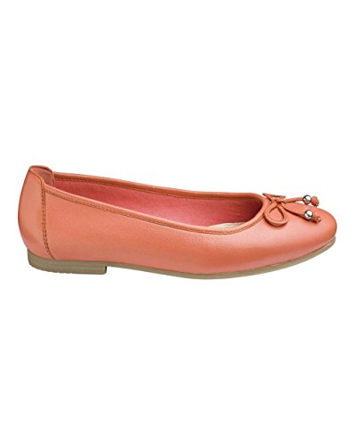 Simply Be Womens Heavenly Soles Ballerina Shoes Coral r5YPL4RlP