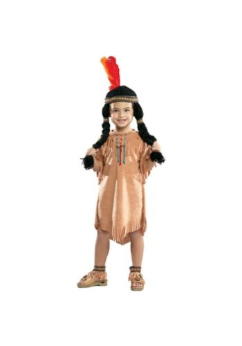 Indian Girl Kids Costume - 2-4 - Little Indian Toddler Costumes