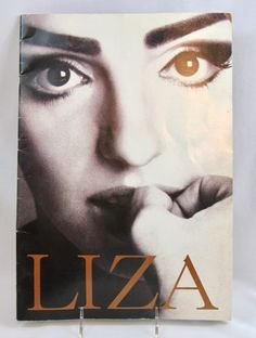1991 Liza Minnelli Program Book With Signed Autograph ()