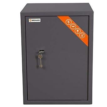 Brihard Business caja fuerte con cerrojo de llave de alta calidad (53x39x37.5cm (HxWxD)): Amazon.es: Bricolaje y herramientas