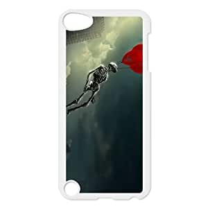 iPod Touch 5 Case White 3D Abstract love Nliqm