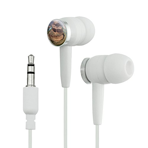 Horseshoe Bend Arizona Colorado River Novelty In Ear Earbud Headphones   White
