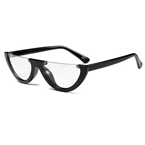 soleil demi lunettes hommes de Eye femmes Mod C5 Style pour Mod monture Huicai classique Cat Yx8qwEa