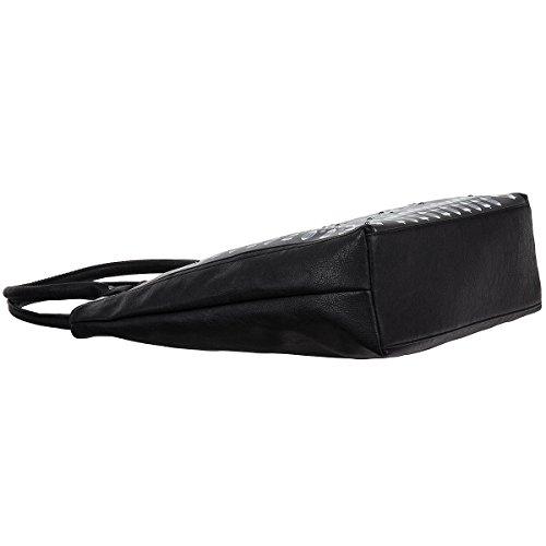 TOM TAILOR Shopper Handtasche Schultertasche Henkeltasche Tasche 20029 Braun