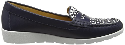 Van Dal Mitchell, Mocassins Femme Bleu (Midnight/White)