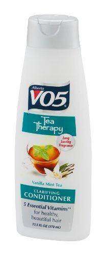 (Alberto VO5 Tea Therapy Vanilla Mint Tea Conditioner for Unisex, 12.5 Ounce)