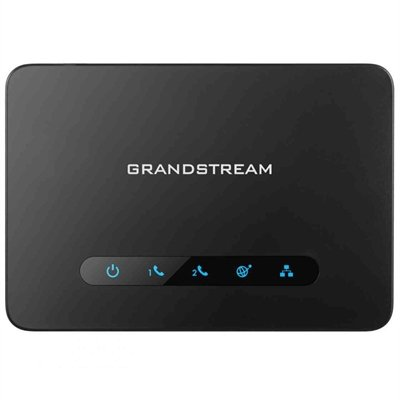 Grandstream HT812 2 FXS Analog Telephone Adapter VoIP FAX Gateway WAN (Fxs Analog Voip Gateway)