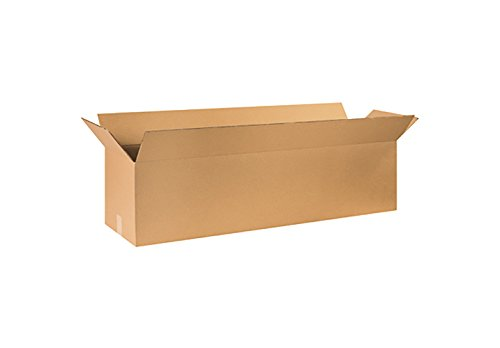 RetailSource Corrugated Boxes, 48'' x 16'' x 16'', (16' Flat Pack)