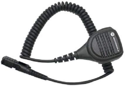 motorola PMMN4075A PMMN4075 Windporting Remote Speaker Microphone, Submersible IP57 – Small Size Microphone, Windporting, IP57