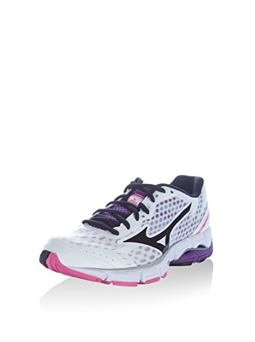 Mizuno Zapatillas Deportivas Wave Connect Womens Blanco / Negro EU 41 Blanco / Negro