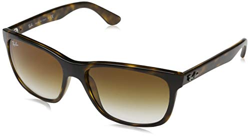 Ray-Ban RB4181 Sunglasses Light Havana/Crystal Gradient Brown, One Size from Ray-Ban